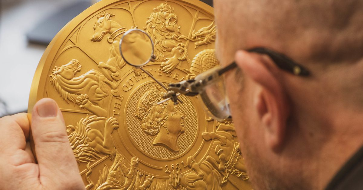Royal Mint credits commemorative coins and gold rush for return to annual profit