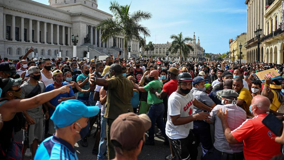 Cuba lifts customs restrictions on food and medicine after biggest protests in decades