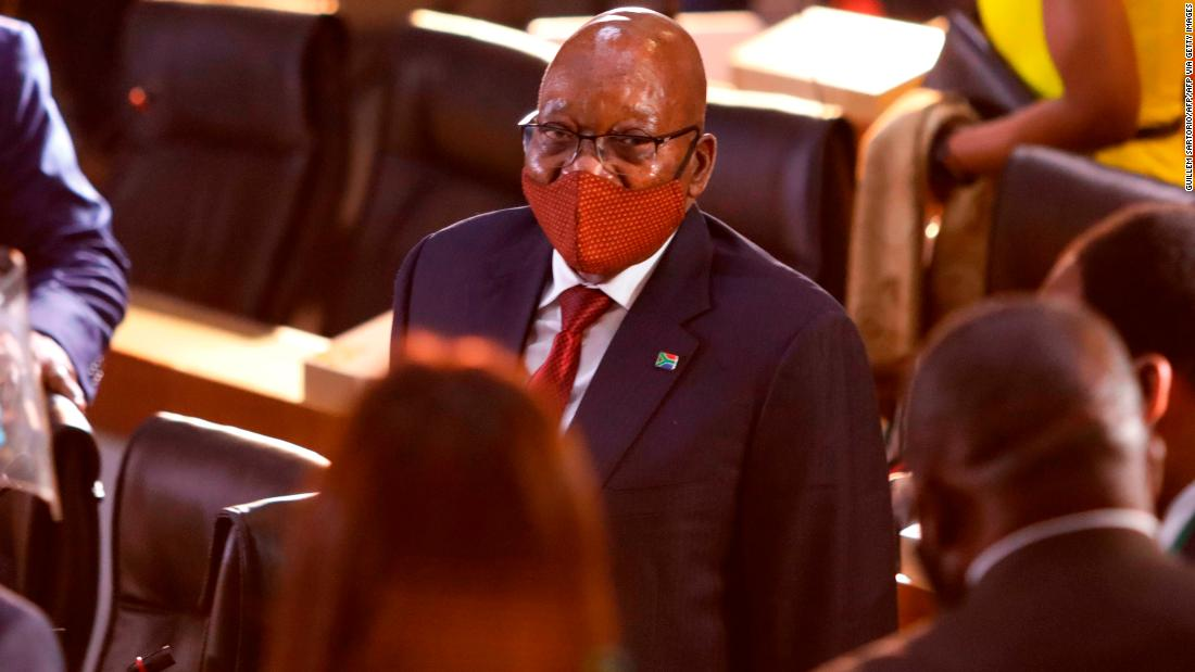 Jacob Zuma's arms deal corruption trial adjourned for one month