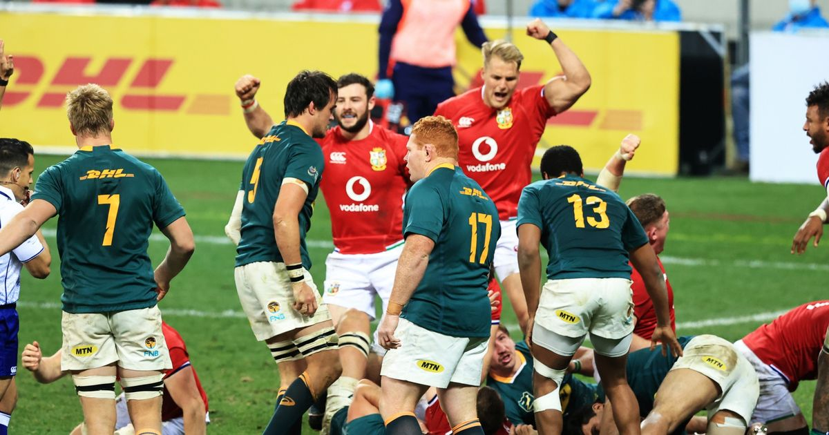 How the Lions turned the tables and beat South Africa at their own game in stunning comeback