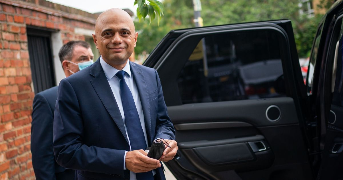 Sajid Javid criticised for suggesting people have 'cowered' from Covid-19