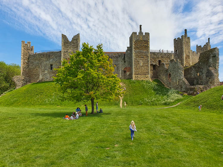 Framlingham Castle with kids: Suffolk day out