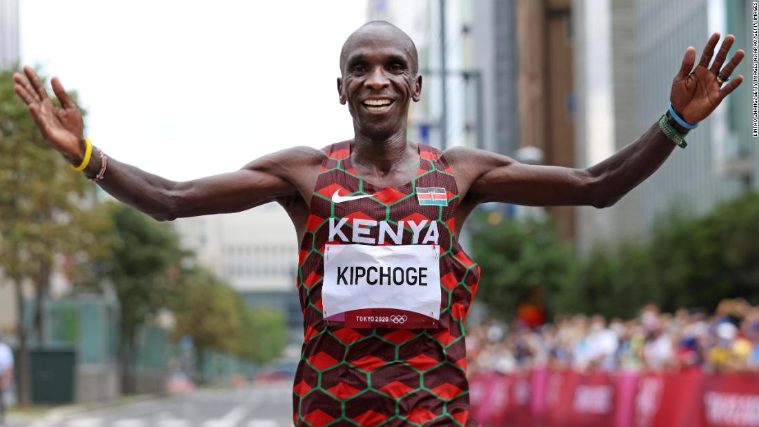 Eliud Kipchoge is the 'greatest of all time ... in any sport,' says leading performance coach