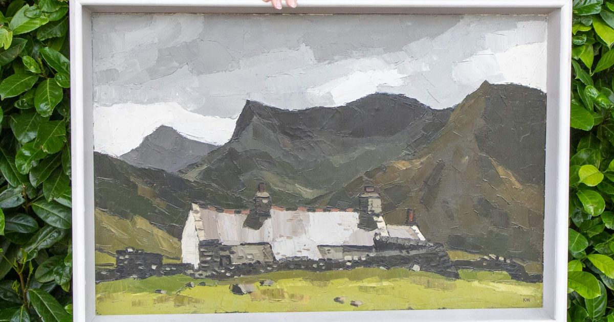 Paintings worth around £50,000 by renowned Welsh artist Sir Kyffin Williams found in house in England