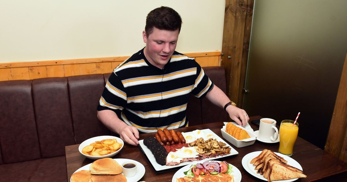 What happened when we took on Cardiff's biggest breakfast challenge