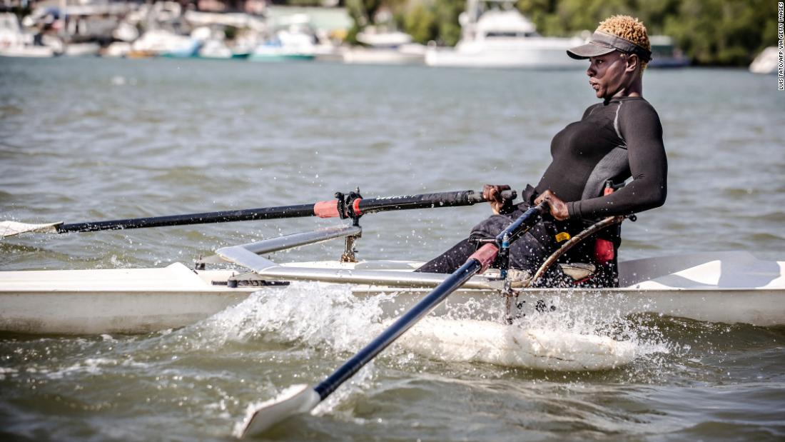 Overcoming tragedy to become Kenya's first female rower at the Tokyo Paralympics