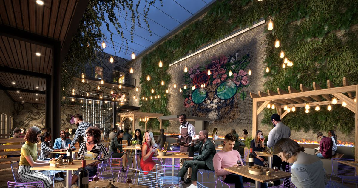 Plans to open bars and restaurants in hidden city courtyard take another step forward