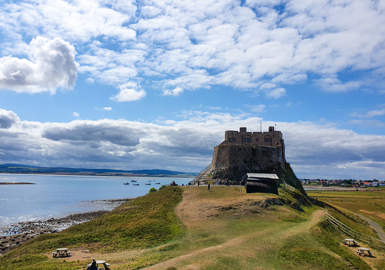 Lindisfarne with kids - visiting Holy Island, Northumberland