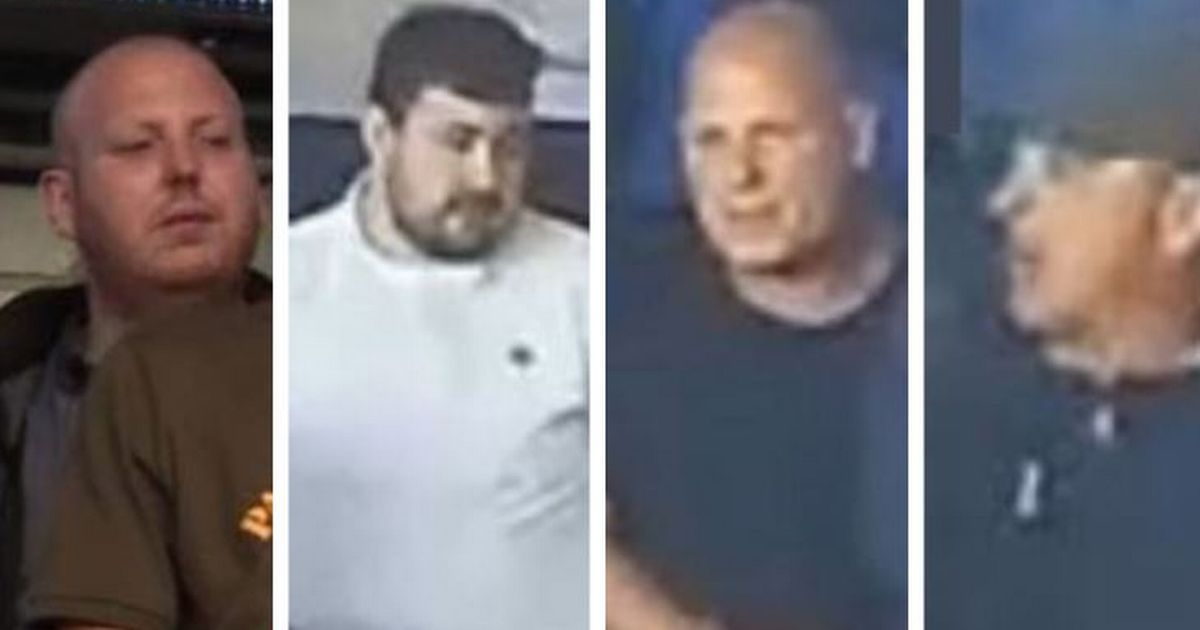 Police release photos of four men they want to speak to in connection with alleged violence at Cardiff V Millwall game