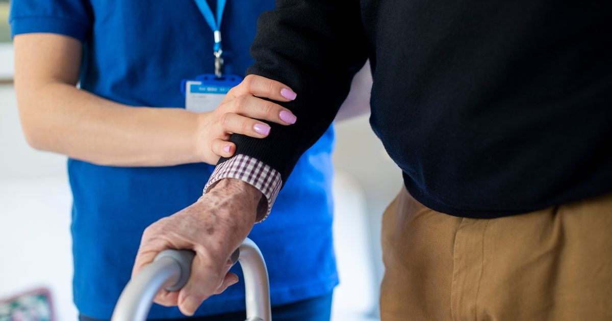 Rules for visiting care homes in Wales eased with distancing scrapped