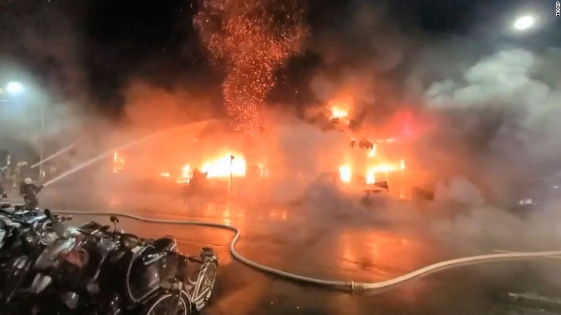 Taiwan fire: At least 46 killed after blaze engulfs Kaohsiung residential building