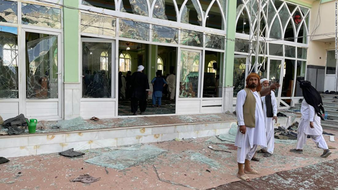 At least 16 killed as explosion rocks mosque in Afghanistan's Kandahar
