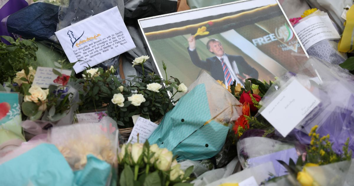 Sir David Amess MP's family say their 'hearts are shattered' in moving tribute